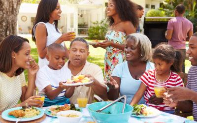 Organisez un repas de famille pour la fête des mères